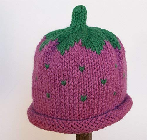 Child Adult Hat Tulsa Mall Rolled RASPBERRY Brim Japan Maker New Color: Beanie