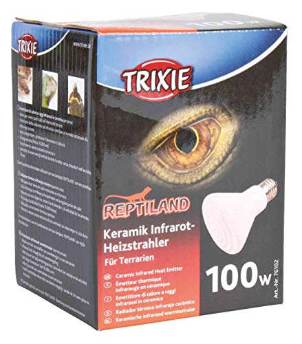 Trixie 76102 Keramik-Infrarot-Wärmestrahler, ø 75 × 100 mm, 100 W