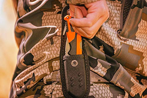 Buck Knives 660 Pursuit Pro Folding Hunting Knife with Guthook, 3-5/8