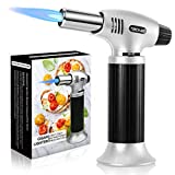 Gifort Kitchen Blow Torch, Flame Lighter, Refillable Blow Torch Lighter Outdoor Windproof Cooking