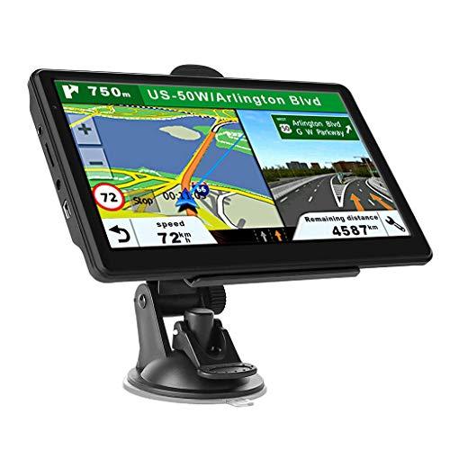 #N a Navegación GPS para coche camión, pantalla táctil 7 pulgadas 8G 256M sistema de navegación con guía de voz Actualización de mapa gratis - Europea