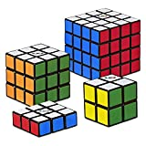 Hasbro Gaming Rubik s Solve The Cube Bundle 4 Pack, Original Rubik s Products, Toy for Kids Ages 8 and Up (Amazon Exclusive)