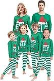 Matching Family Pajamas for Girls Women Men Elf Pjs Children Sleepwear Baby Boys Clothes Kids 2t