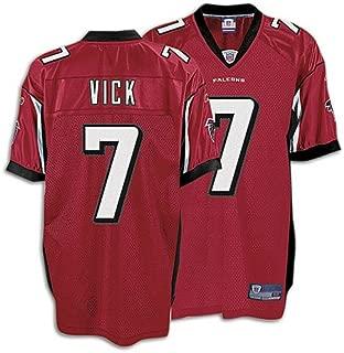 Falcons Reebok Men's NFL Alt Color Authentic Jersey ( sz. 48, Red : Vick, Michael : Falcons )