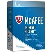 McAfee Internet Security   2017 Version   1 Gerät   1 Jahr   PC/Mac/Smartphone/Tablet   Download