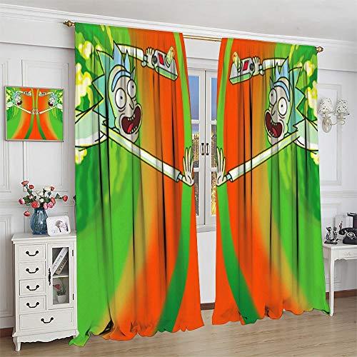 FOCLKEDS Vorhänge für Schlafzimmer,...