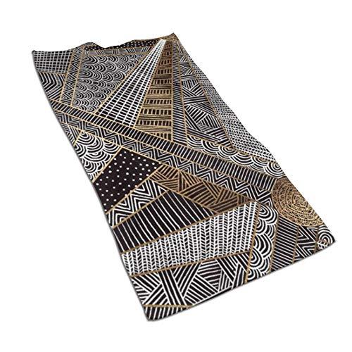 Toalla de mano de secado rápido, suave, súper absorbente, de Barcelona, 27.5 x 17.5 pulgadas