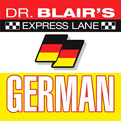 Page de couverture de Dr. Blair's Express Lane German