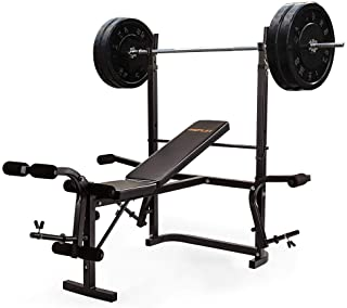 Proflex B300 Weight Bench Press with Leg Curl