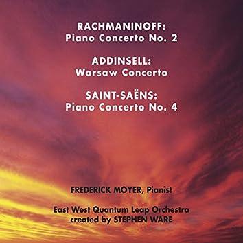 Rachmaninoff, Addinsell, Saint-Saens