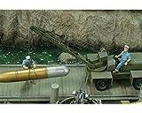 Royal Model: 1/35; marinero y maniobrador grúas americanas WW II.