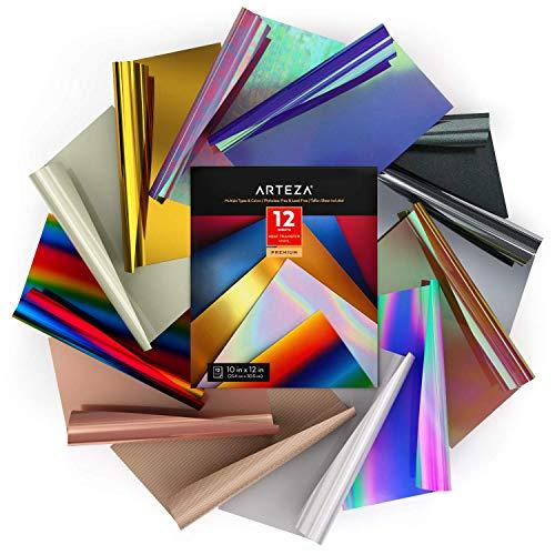 Bunte Silber SUPVOX Transfer Papier W/ärme/übertragung Vinyl Rolle Vinyl Folie f/ür T-Shirt DIY Craft Heat Press