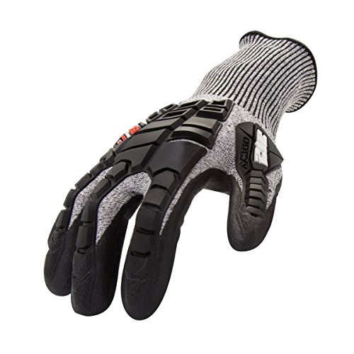 212 Performance Gloves Impact / Cut Resistant Gloves, (EN Level 5, ANSI A3), Seamless, Breathable Fabric, Elastic Cuff, Small