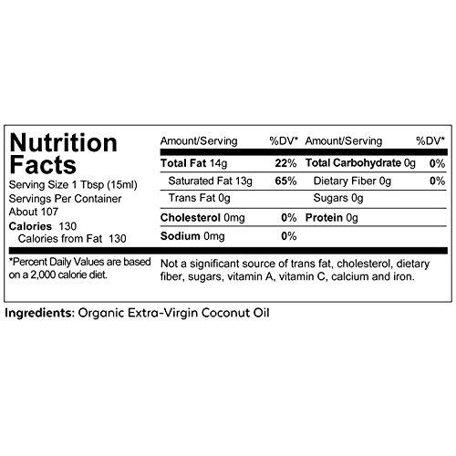 Product Image 7: Viva Naturals Organic Extra Virgin Coconut Oil (54 Oz) – Non-Gmo Cold Pressed