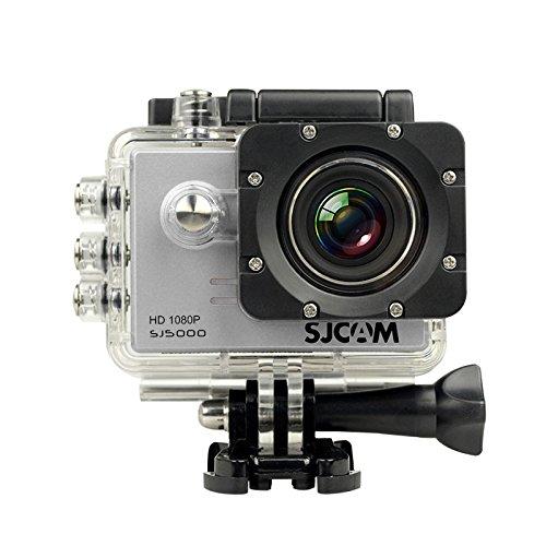 SJCAM SJ5000 Sport Action Camera Video Camcorder Waterproof Outdoor Sports Riding Diving Skiing Car DVR DV 1080P 170°Wide Angle Lens Original Silver