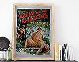 AZSTEEL Tarzan and The Amazons Film Vintage 1945 USA Movie