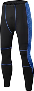 Winter Thermal Fleece Cycling Base Layer Men Road Bike Pants Compression Tights Outdoor Hiking Heating Pants