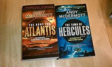 Set of 2 Andy McDermott Novels (The Hunt for Atlantis, The Tomb of Hercules)