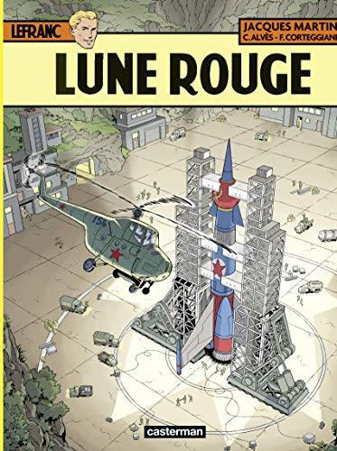 Lefranc (Tome 30) - Lune rouge (French Edition)
