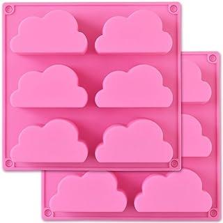 Moule nuage en silicone Cozihom, moule à savon en silicone, moule multifonction pour faire du chocolat au pouding au savon...