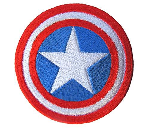 Parche de Capitán América escudo de los Vengadores