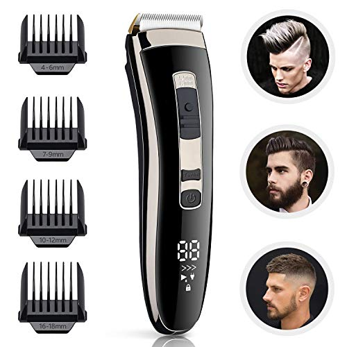 (60% OFF) Cordless Hair Clippers $16.00 – Coupon Code