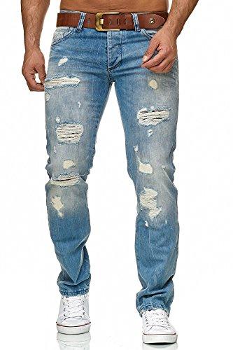 Redbridge by Cipo & Baxx Herren Jeans Hose RB-157 9740, Größe 31W / 32L, Farbe Blau