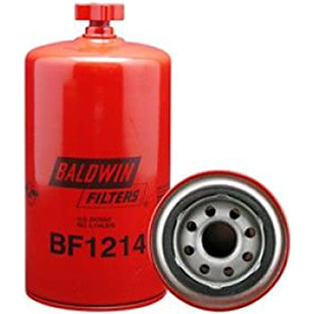 Baldwin BF1214 Heavy Duty Diesel Fuel Spin-On Filter