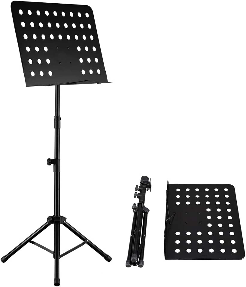 cerobit Max 46% OFF The Height-Adjustable Foldable Regular discount Music f Stand is Suitable