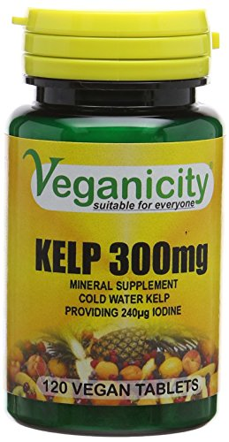 Veganicity Kelp 300mg Slimming Health Supplement - 120 Tablets