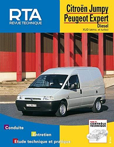 Revue Technique Automobile - Citroen Jumpy Peugeot Expert - Diesel - XUD(atmo et turbo)
