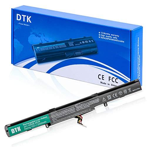 DTK A41-X550E Laptop Akku für Asus X450E X550V X550E X550Z F450 F450E F751 X751L X751M R751 R752 [15V 2600MAH]
