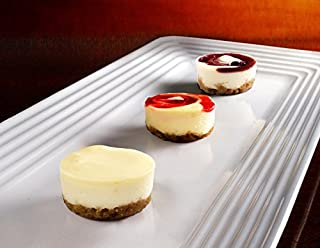 Tropical Cheesecake Assortment - Gourmet Frozen Desserts (59 Piece Tray)