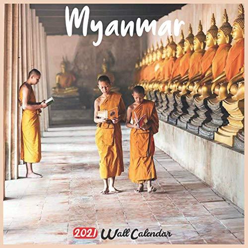 Myanmar 2021 Wall Calendar: Official Myanmar Burma Calendar 2021, 18 Months