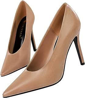 ELECTRI Femme Baskets /à Lacets,Chaussures Pois de Cuir Femme Chaussures de Travail avec Embout de Protection en Acier et Semelle de Antid/érapant
