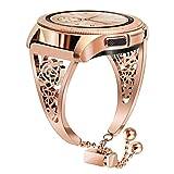 TRUMiRR pour Galaxy Watch 42mm Femmes Bandes, 20mm Bracelet de Montre Femme Manchette...