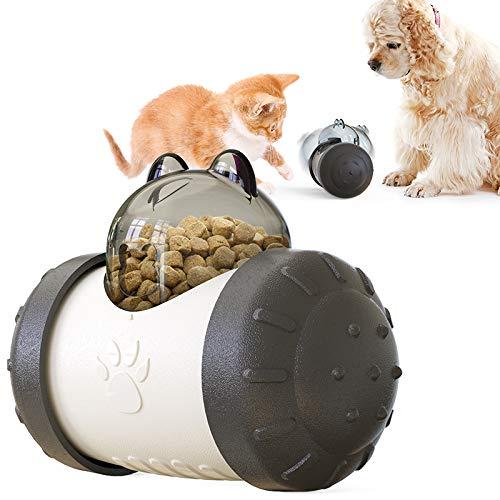 Suministros para mascotas, puzle de vaso, bola de fugas de comida lenta, no juguete eléctrico para perro, bola dispensadora de alimentos para perros o gatos cuenco de alimentación lenta