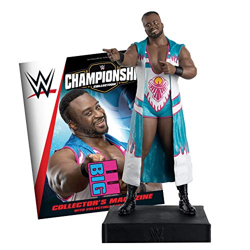 WWE Championship - Figura de Big E de la WWE - Eaglemoss Collections