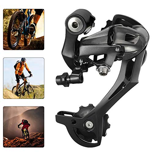 RD-M390 Deragliatore Posteriore, Cambio a Deragliatore 9 Velocità per Bici da MTB da Ciclismo All'aperto