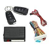 KKmoon Cerradura universal para puerta de coche, sistema de cierre centralizado, mando a distancia con 2 llaves...