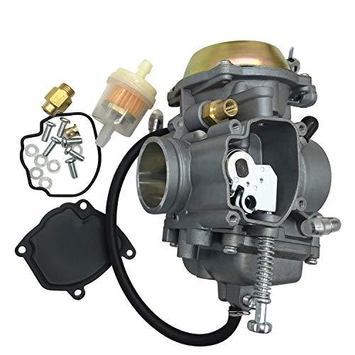 BAODI Piezas de Repuesto de carburador Duradero Motocicleta PD34J carburador para Scrambler 500 UTV Polaris Trail Boss 325 All Terrain Vehicle Carburetor