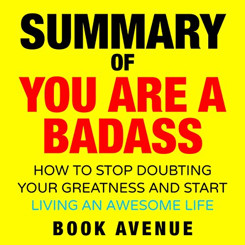Summary of You Are a Badass audiobook cover art