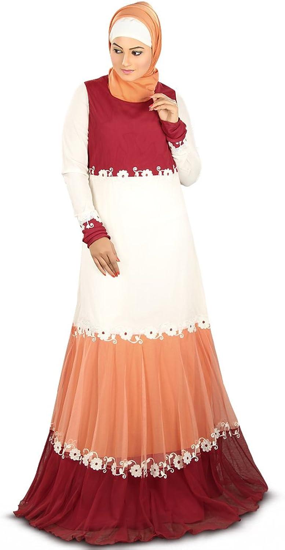 Mybatua Women's Designer Hanin Abaya For Weddings & Occasions Wear
