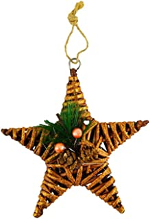 Kriti Creations Wooden Star Christmas Decoration