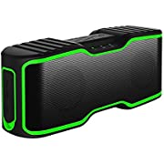IPX7 Waterproof Bluetooth Speakers, URPOWER 30 ft Bluetooth 4.0 Speaker with 10W Enhanced Bass, Built-in Mic , Stereo Pairing, NFC Tech, Wireless Speaker for iPhone 7/7Plus, iPad iPod and Android Phones [Energy Class A+]