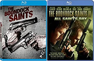 Irish/ American Boston Mob Double Feature: The Boondock Saints & The Boondock Saints All Saints Day 2 Blu Ray Bundle