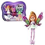 Winx Club Flora   Tynix Mini Magic Bambola Fata con Trasformazione   12 cm