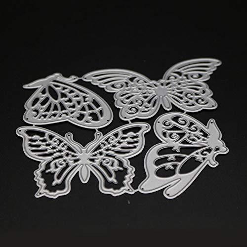 Xmiral Fustelle per Scrapbooking per Carta Cutting Dies Metallo Fustella Stencil #19032601R, Accessori per Big Shot e Altre Macchina(E)