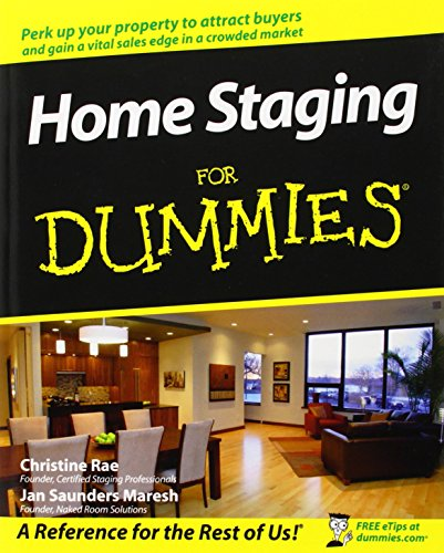 Home Staging For Dummies ~ TOP Books