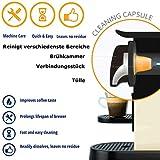 TronicXL 8 Stück Entkalker Reinigungskapseln kompatibel mit Caffitaly K-fee Verismo Starbucks...